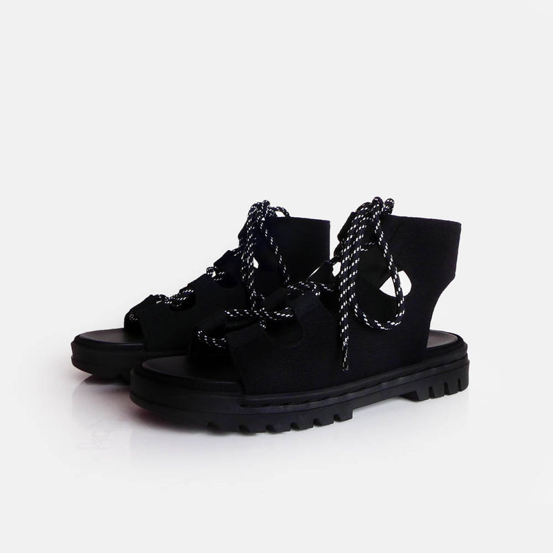 Ghilie All Black - Mks Shoes - hglhouse