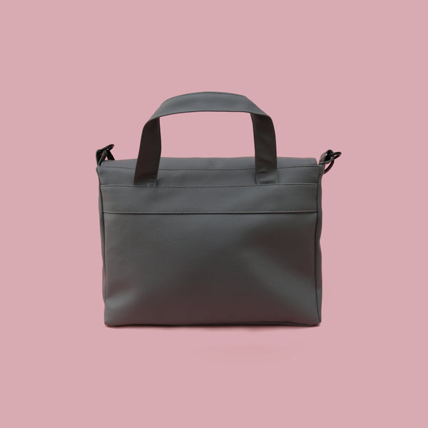 SINGLE HANDLE BAG GREY - MANNEQUIN PLASTIC