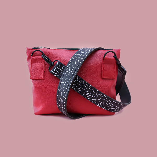 SIMPLY MINI BAG RED - MANNEQUIN PLASTIC