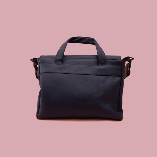 SINGLE HANDLE BAG NAVY - MANNEQUIN PLASTIC