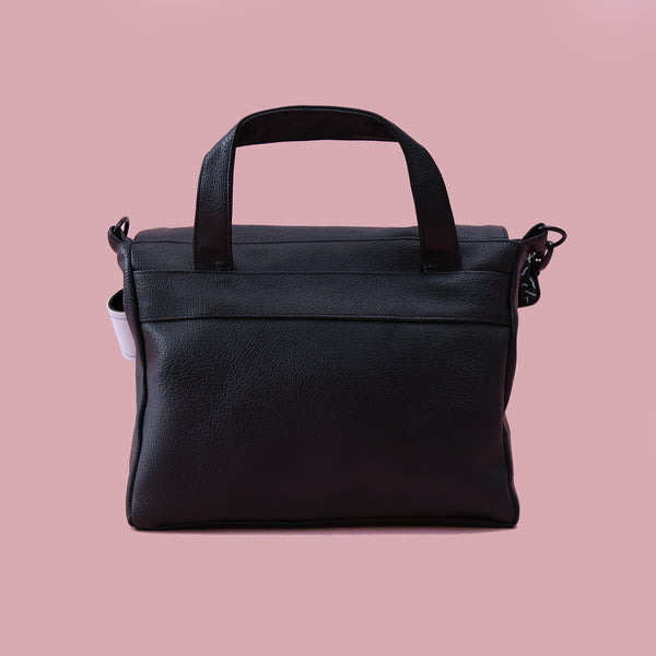SINGLE HANDLE BAG BLACK - MANNEQUIN PLASTIC