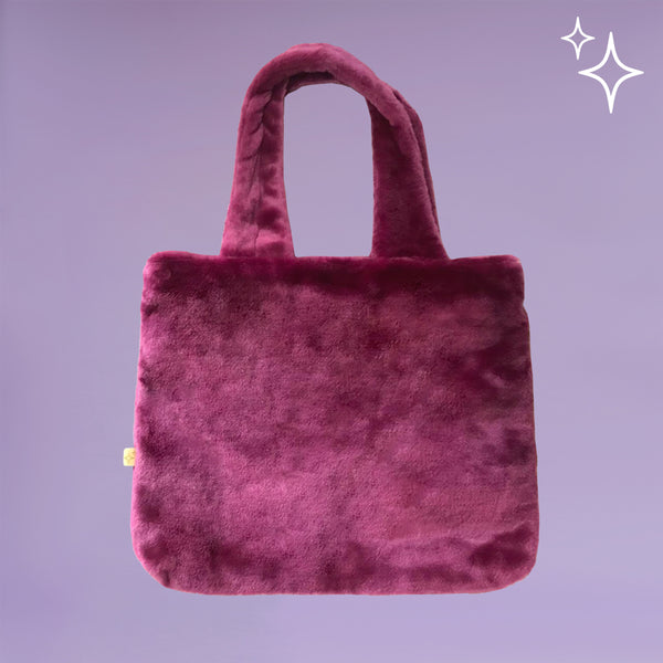 Mulberry Fluffy Totebag - Bling It On - hglhouse
