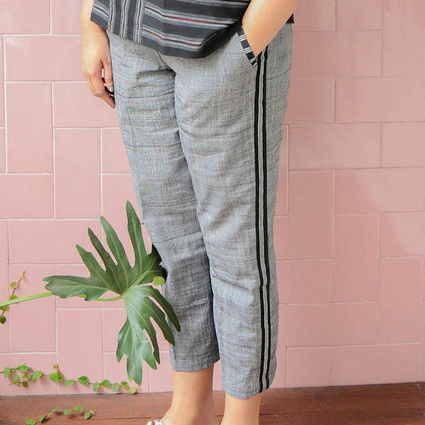 Anka Pants Grey - Okainku