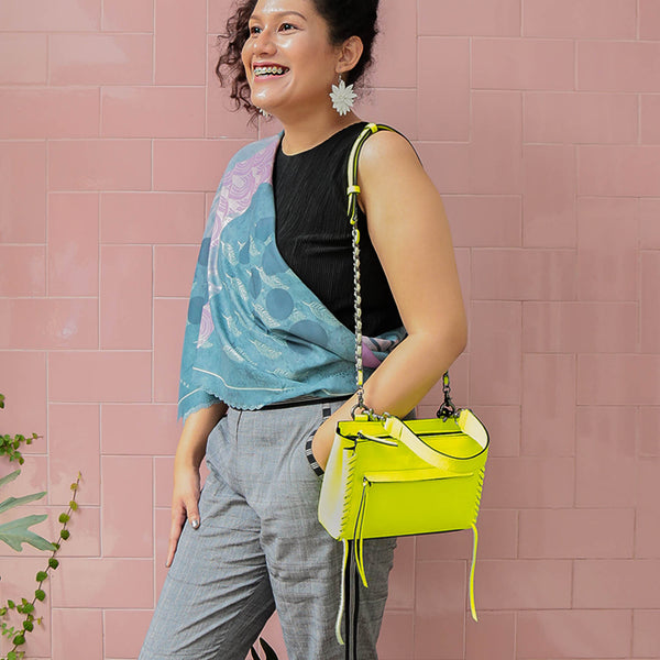 Kanya Yellow Neon - Peau