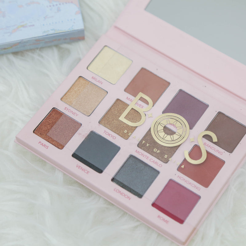 Eye Shadow Palette - Beauty Of Saira - hglhouse