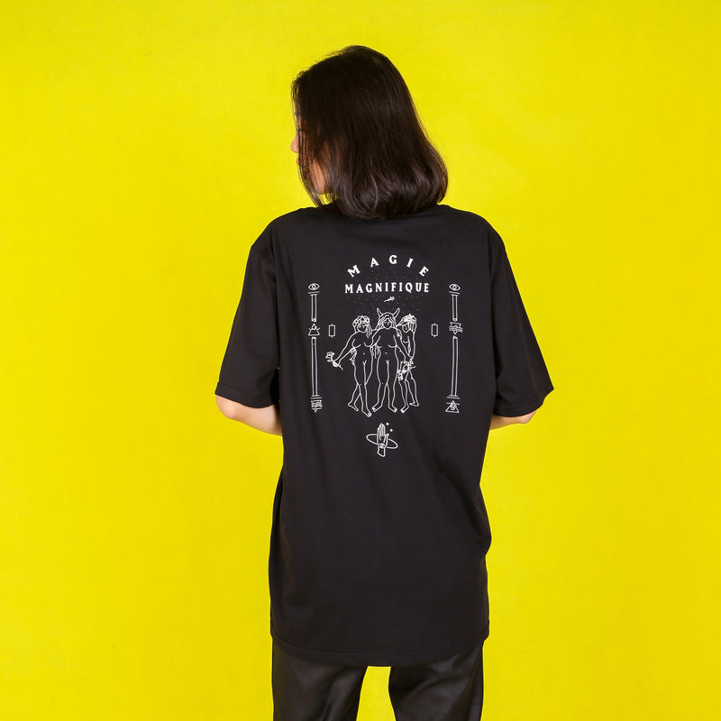 Withcraft Oversized Tee - Mantra - hglhouse