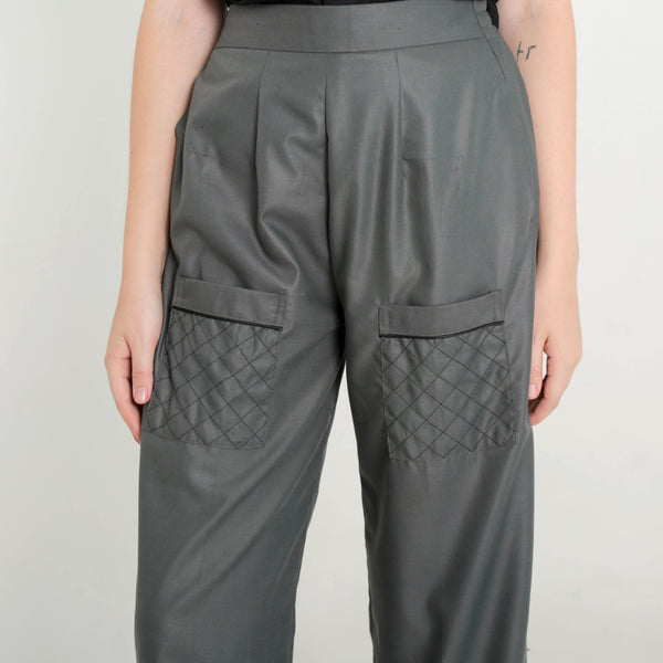 Paja Pants Grey - Temporary Anxiety