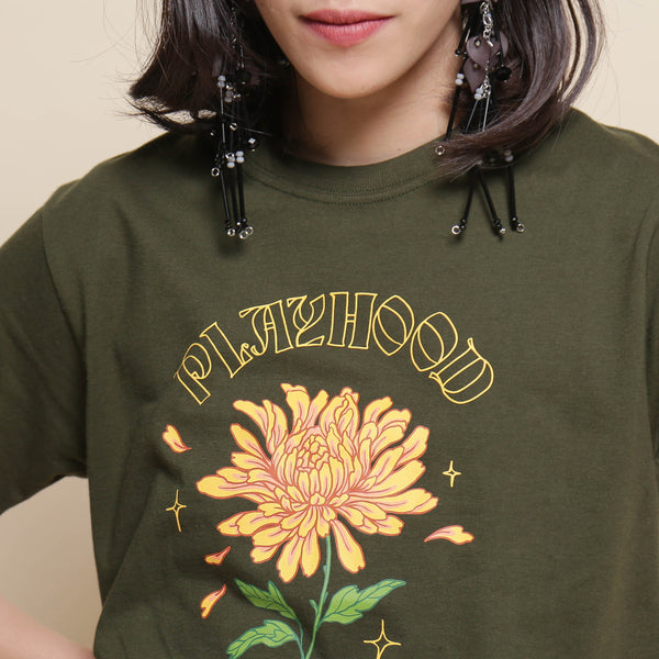 Chrysanthemum Tshirt - Playhood - hglhouse
