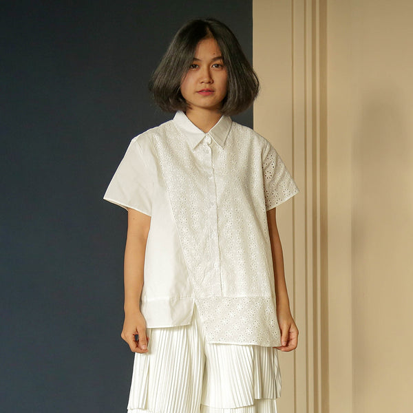 Offwhite Lace Donata - Cottonink