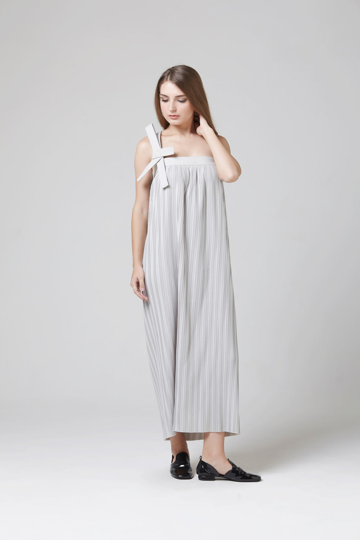 GRACIE DRESS GREY
