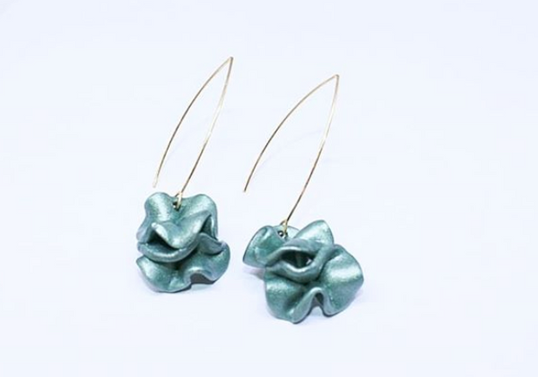 Acro Earrings Green - Mita Jewelry - hglhouse