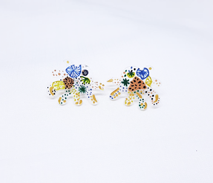 Gemmi Earrings Yellow - Mita Jewelry - hglhouse