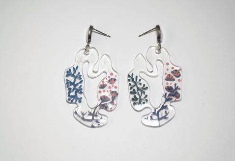 Tifera Earrings Blue - Mita Jewelry - hglhouse