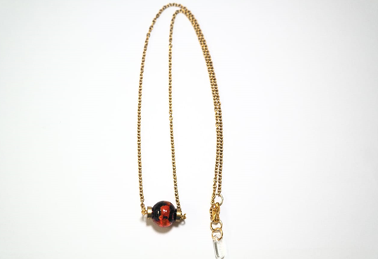 Chrystal Necklace Black - Mita Jewelry - hglhouse