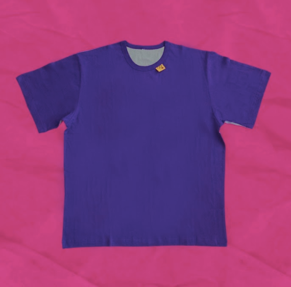 Duo Tshirt Purple Grey - Tooyoung - hglhouse