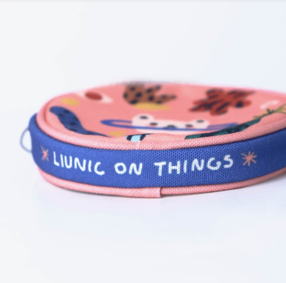Head Space Round Pouch - Liunic On Things - hglhouse