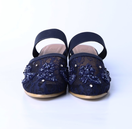 Caitlyn Navy Blue - Heirloom - hglhouse