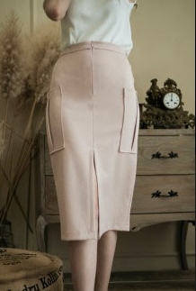 Michael Skirt in Champagn Blush - Maven - hglhouse