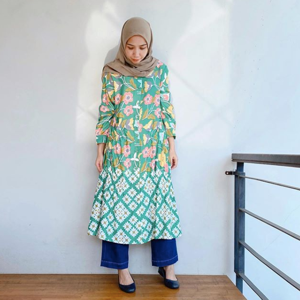 Agnia dress Geen - Nadjani - hglhouse