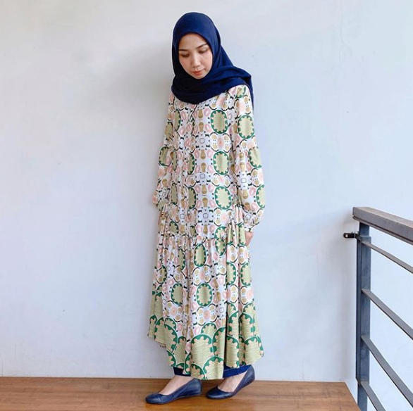 Aster dress Green - Nadjani - hglhouse