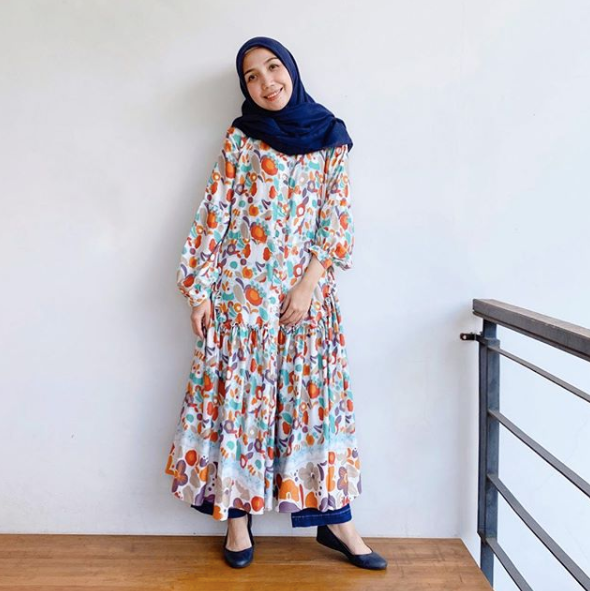 Aster dress Blue - Nadjani - hglhouse