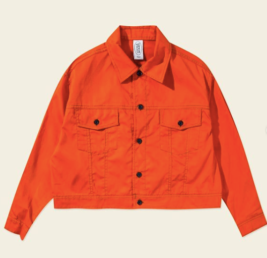 Rhonda jacket orange - Locale Woman - hglhouse
