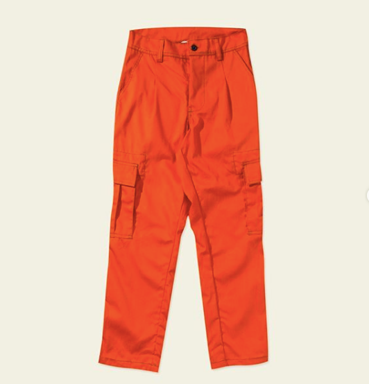Rhonda pants orange - Locale Woman - hglhouse