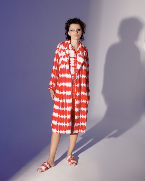Summer Robe Red - High On Life - hglhouse