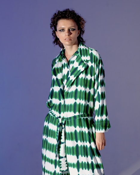 Summer Robe Green - High On Life - hglhouse