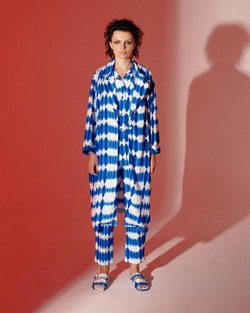 Summer Robe Blue -  High On Life - hglhouse