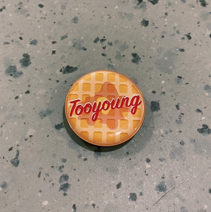 Waffle Phone Grip - Tooyoung - hglhouse