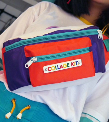 Fanny Color Pack - Collage Kit