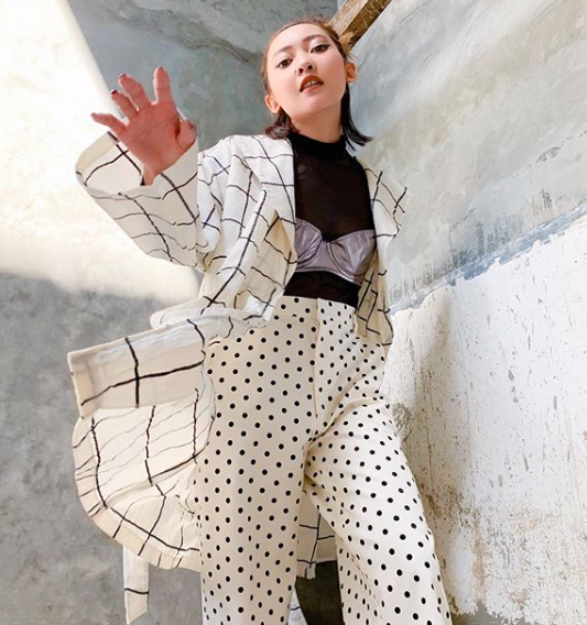 Checkered Julie Outerwear - Mera Mera Studio