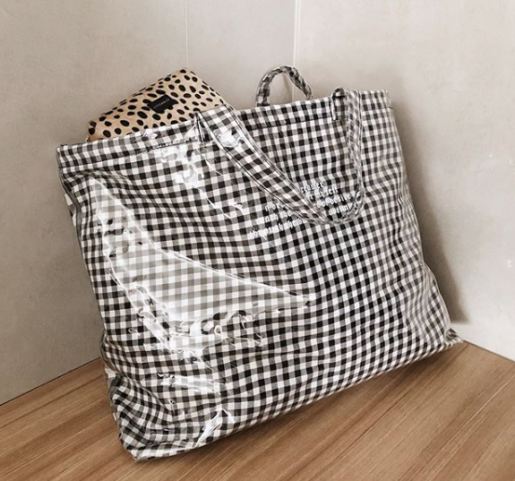 Mercy Gingham - Satchel - hglhouse