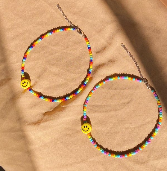 Smiley Choker - Cassameta - hglhouse
