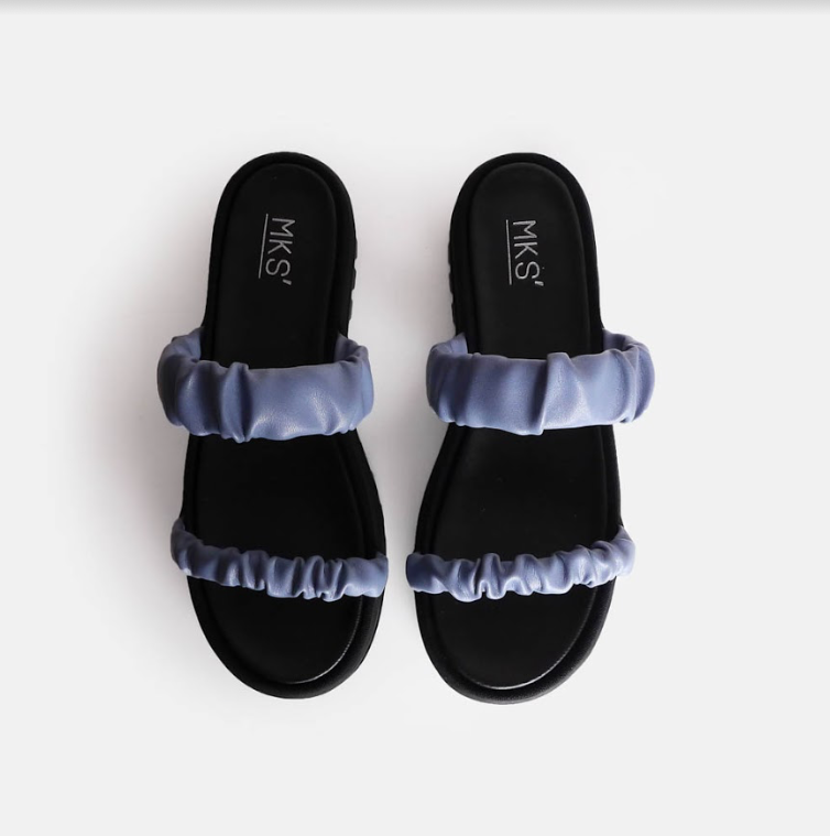 Famina Sandal Blue - Mks Shoes - hglhouse