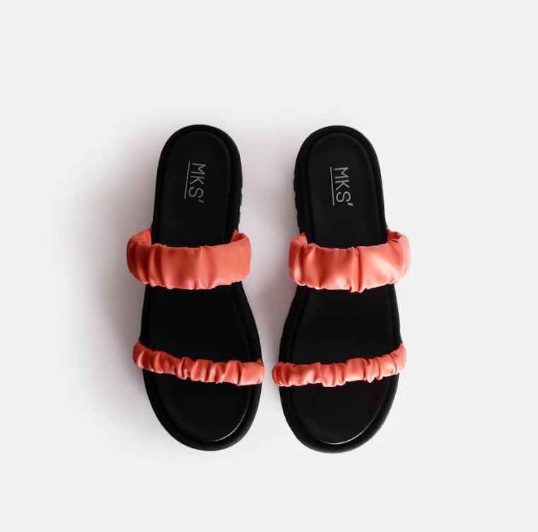 Famina Sandal Pink - Mks Shoes - hglhouse