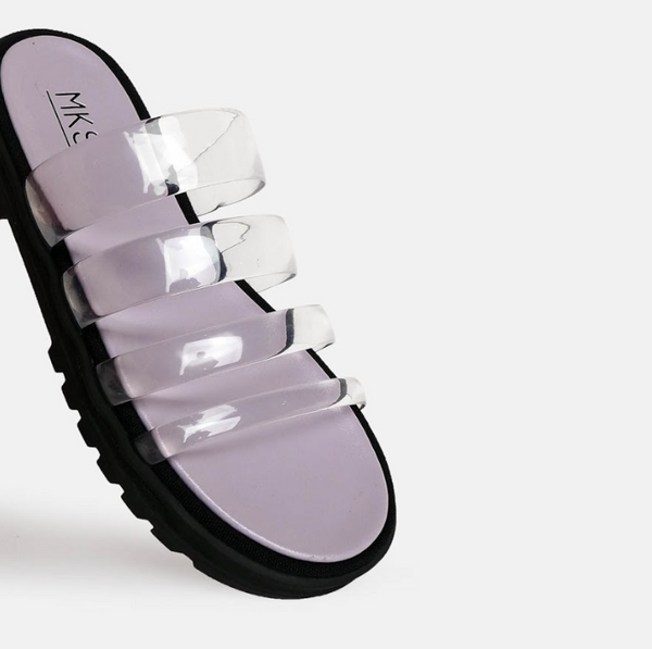 Lexa Seethrough Lilac - Mks Shoes - hglhouse