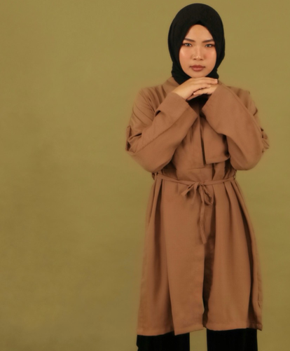 Kama Shirt Brown - Xotre - hglhouse