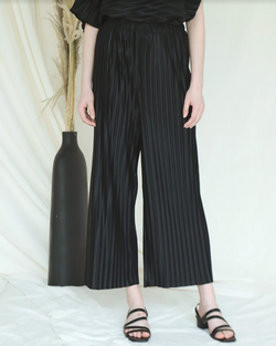 Audra Pants Black - White Collar Concept - hglhouse