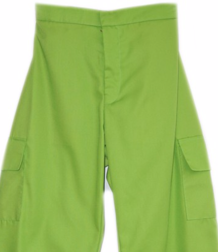 Multi Pocket Pant Neon Green - Mannequin Plastic - hglhouse