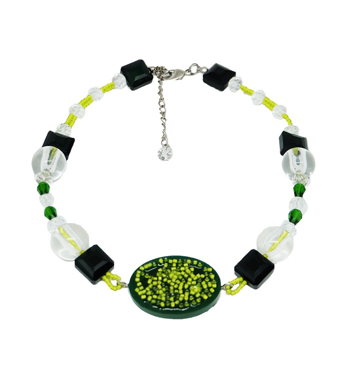 Radiata Necklace Green - Prel Studio - hglhouse