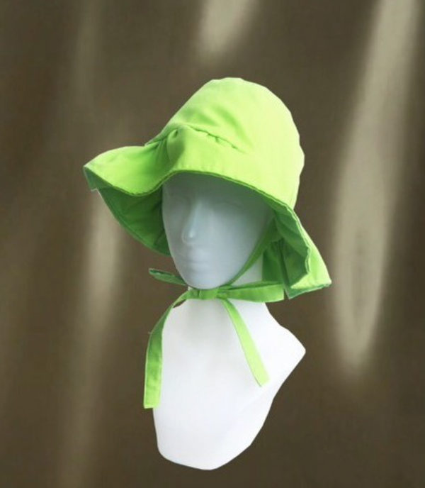 Wobbly Hat Flouro Green - Pinx - hglhouse