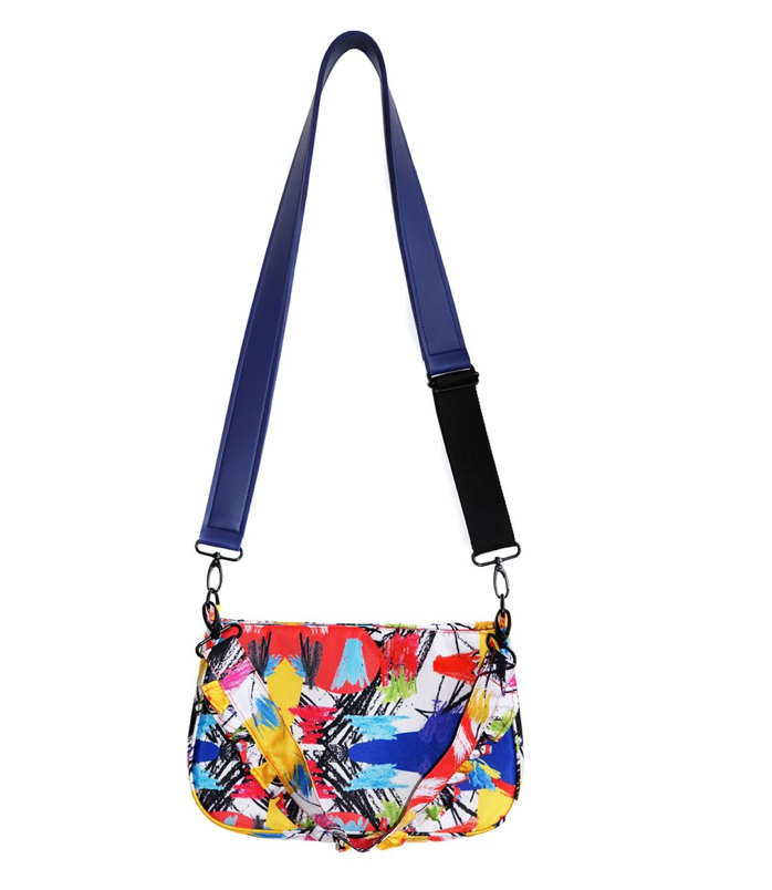 Mannequiin Plastic Oil Pastel Abstract - Sling Bag