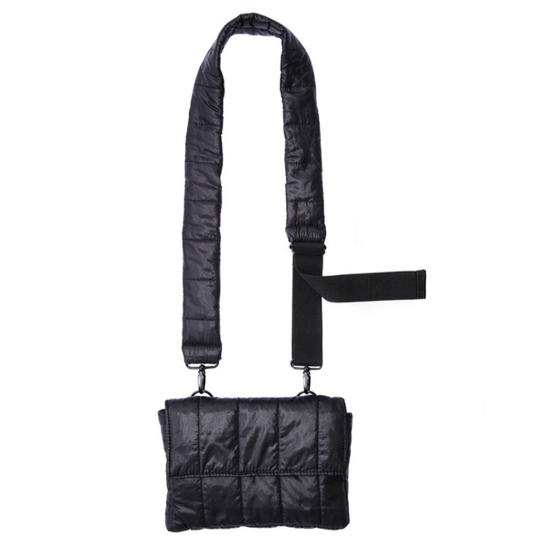 Mini puff black bag - Mannequin Plastic