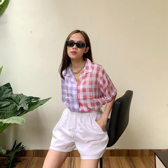 Summer Shirt Two Tone Pink - Monday To Friday