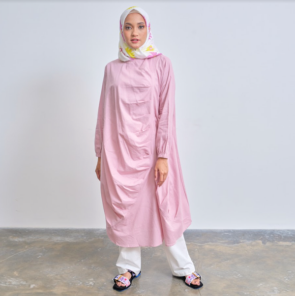 Emine Tunik Dusty Pink - Legan