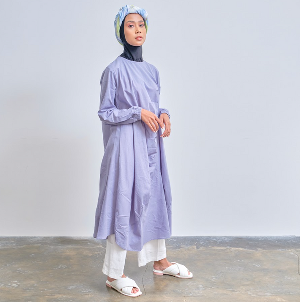 Alea Tunik Blue - Legan