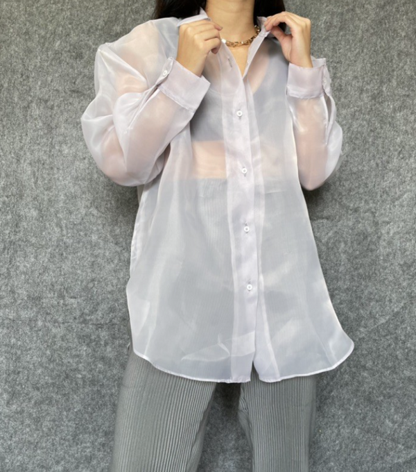 Oriza Shirt (Ash Grey) - Mine