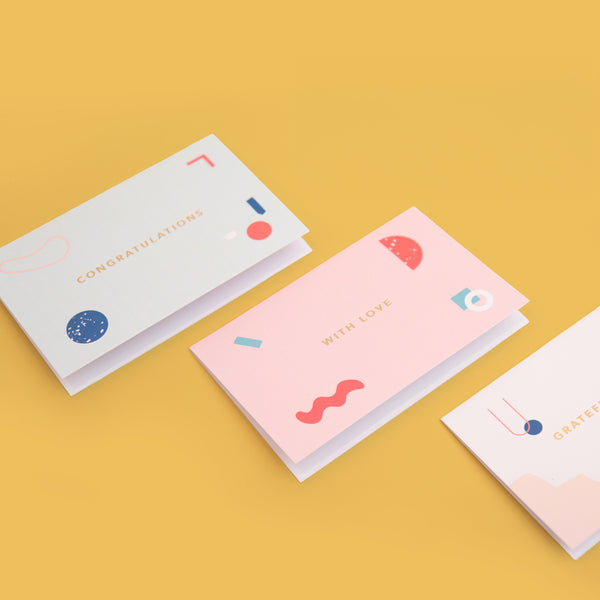 With Love Card Set - Thre